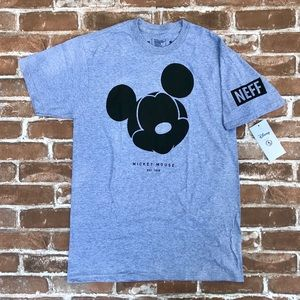 Disney by Neff Grey & Black Mickey Mouse T-Shirt